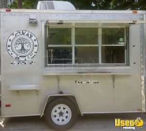 2013 Coffee Concession Trailer Beverage - Coffee Trailer Air Conditioning Florida for Sale