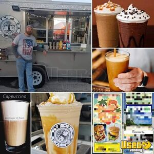 2013 Coffee Concession Trailer Beverage - Coffee Trailer Fresh Water Tank Florida for Sale