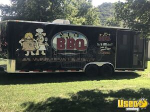 2013 Colonial Custom Built Barbecue Food Trailer Air Conditioning North Carolina for Sale
