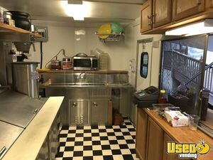 2013 Colonial Custom Built Barbecue Food Trailer Awning North Carolina for Sale