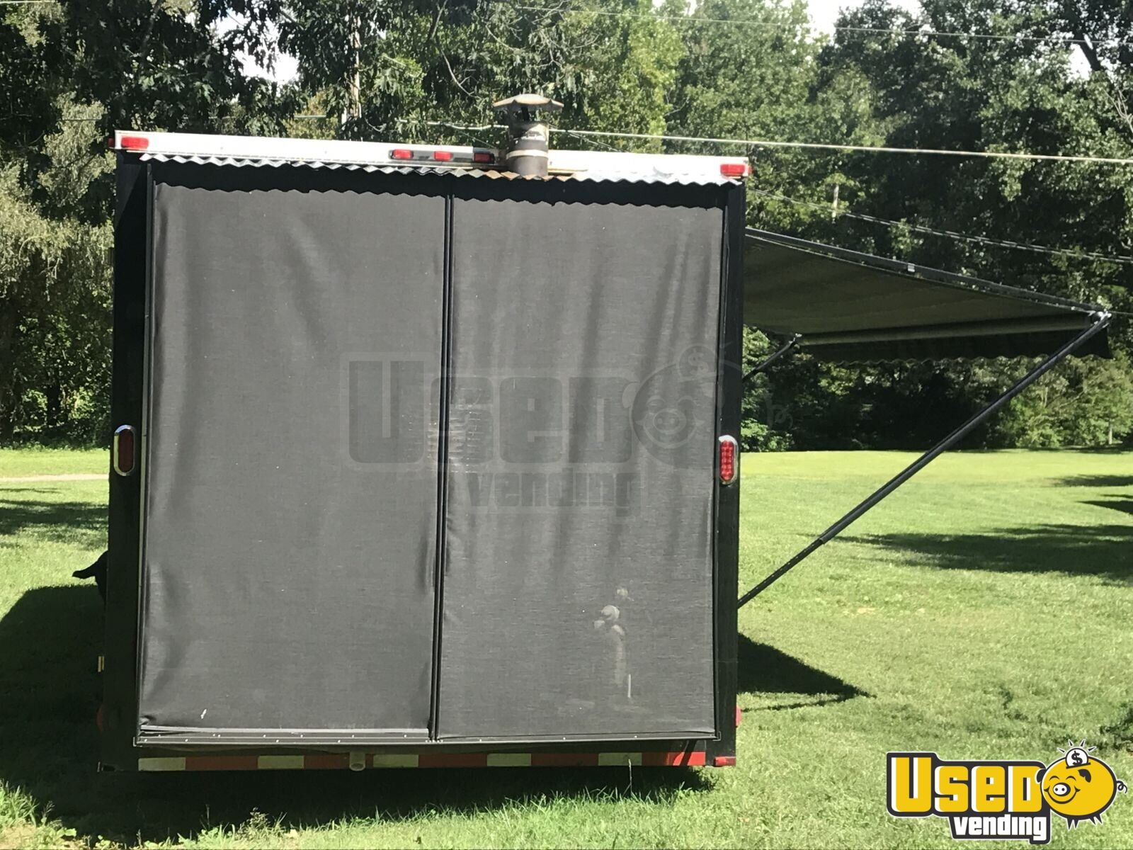 2013 Colonial Custom Built Barbecue Food Trailer Cabinets North Carolina for Sale - 5