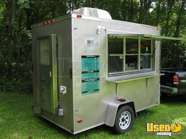 10 Gourmet Coffee Concession Trailer For Sale In Florida