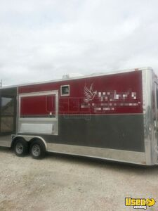 2013 Diamond Concession Trailer Stainless Steel Wall Covers Washington for Sale