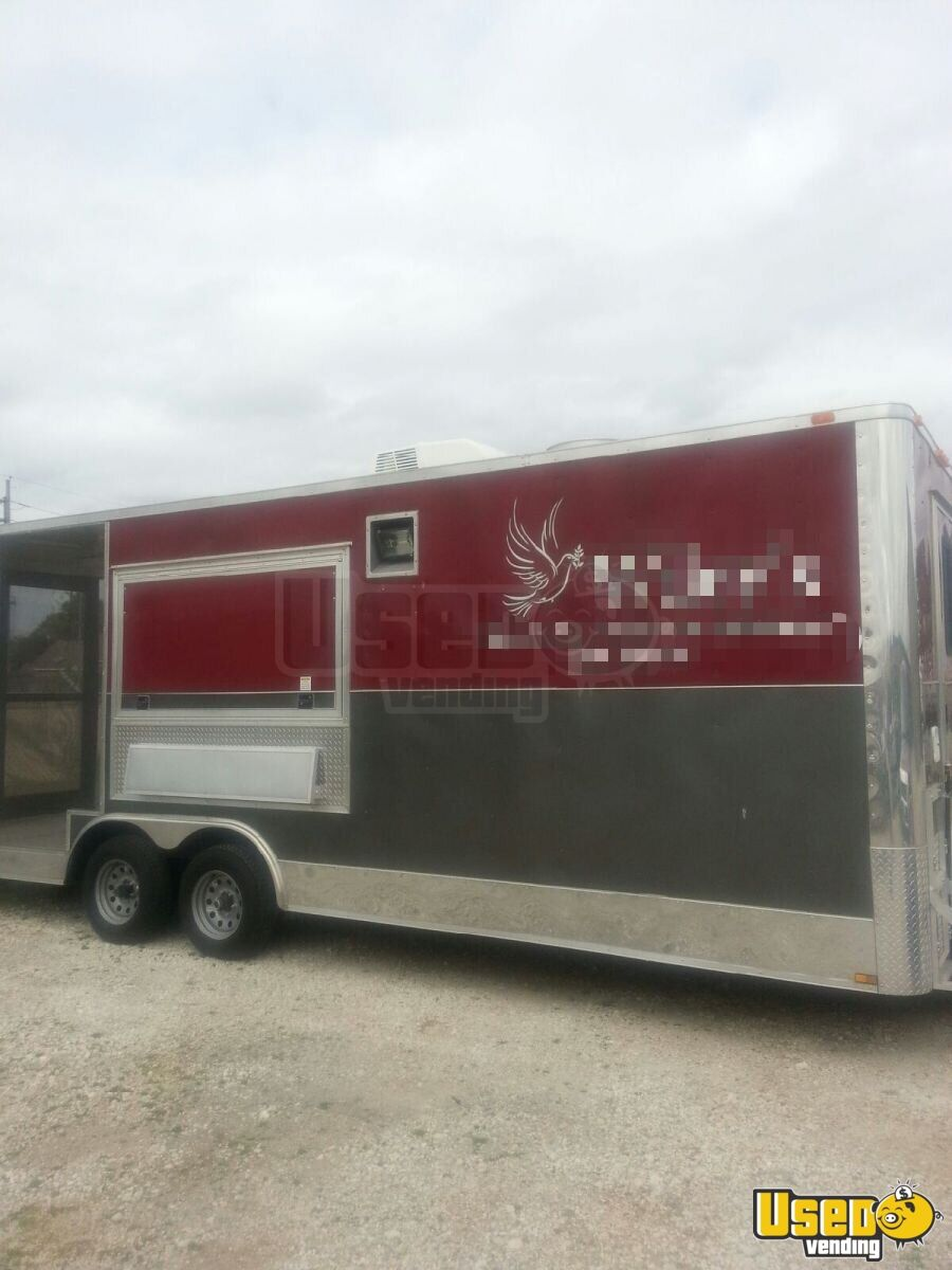 2013 Diamond Concession Trailer Stainless Steel Wall Covers Washington for Sale - 7