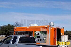 2013 Food Concession Trailer Concession Trailer Stainless Steel Wall Covers Texas for Sale