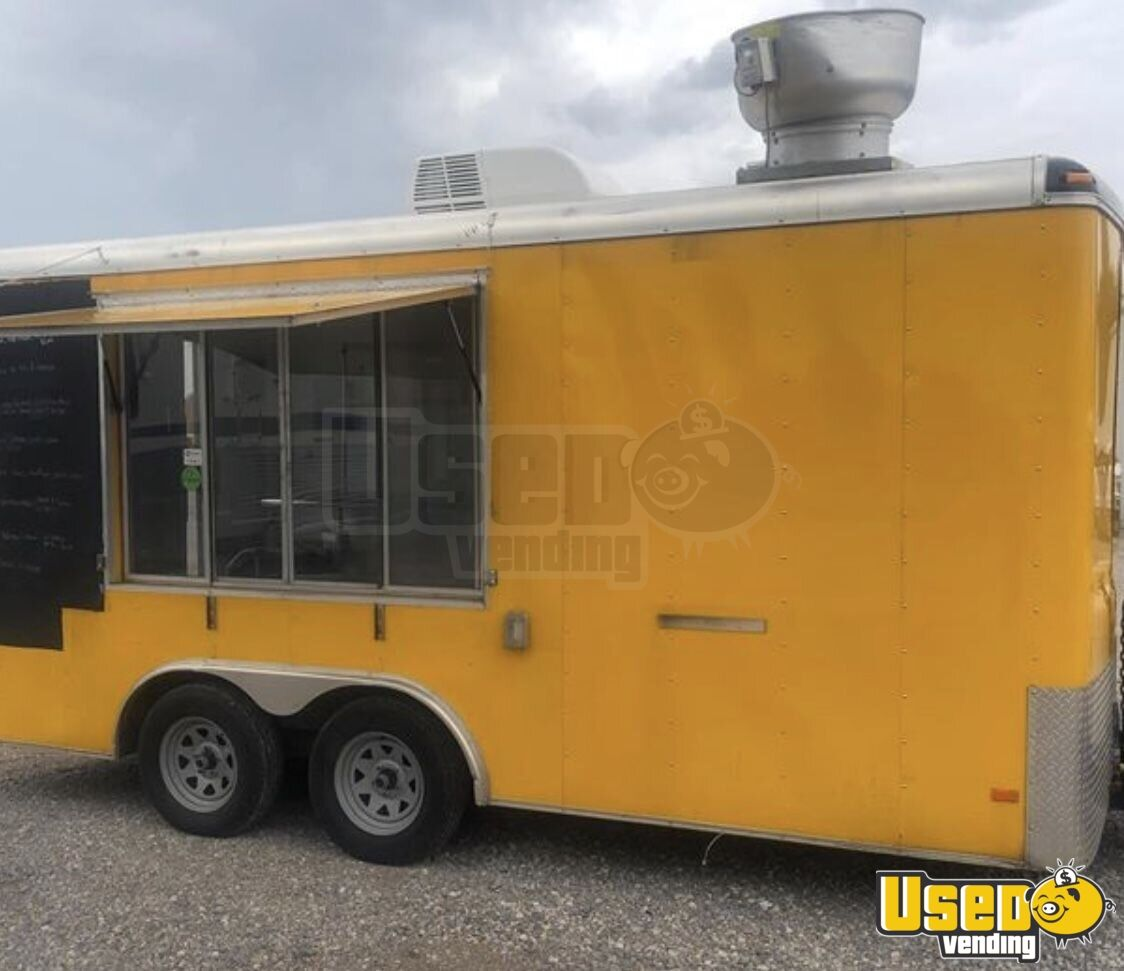 2013 Food Concession Trailer Kitchen Food Trailer Air Conditioning Oklahoma for Sale - 2