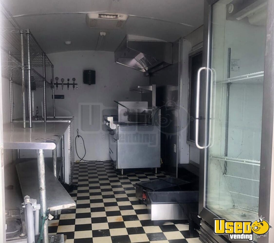 2013 Food Concession Trailer Kitchen Food Trailer Removable Trailer Hitch Oklahoma for Sale - 5