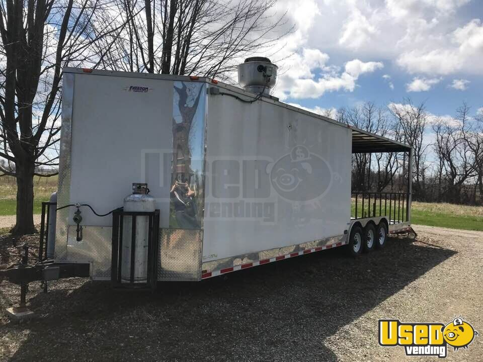 2013 Freedom All-purpose Food Trailer Concession Window Michigan for Sale - 2