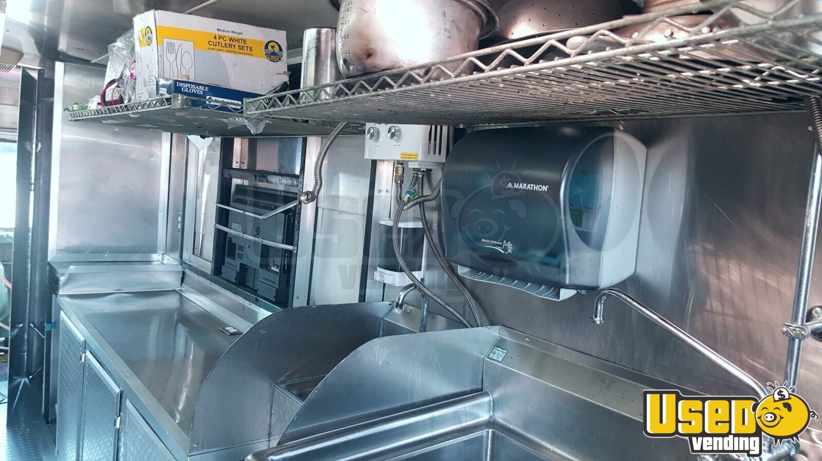 2013 Kenworth 370 Pizza Food Truck 27 Ohio Diesel Engine for Sale - 27