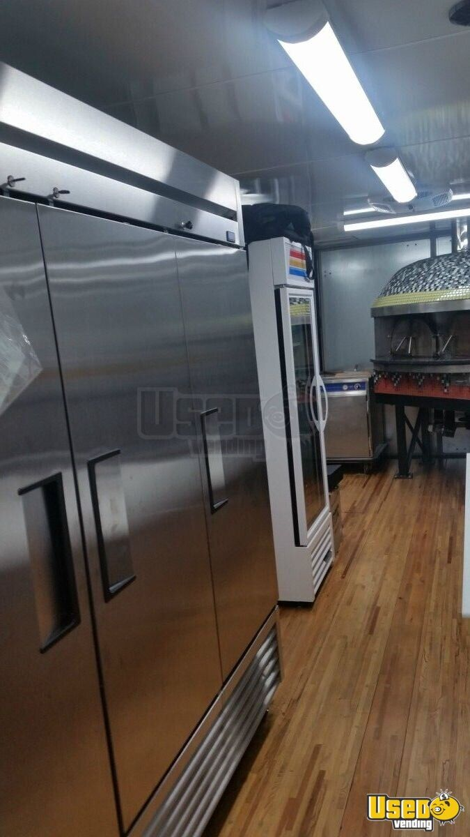 2013 Kenworth 370 Pizza Food Truck Interior Lighting Ohio Diesel Engine for Sale - 15