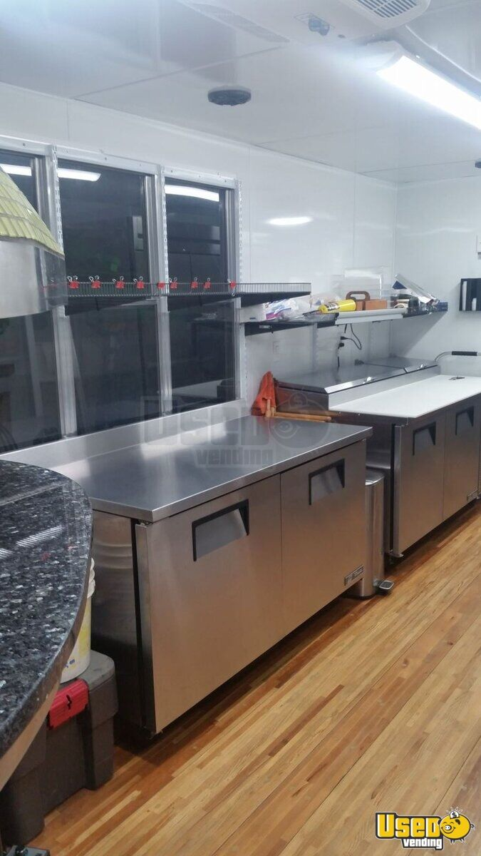 2013 Kenworth 370 Pizza Food Truck Work Table Ohio Diesel Engine for Sale - 14