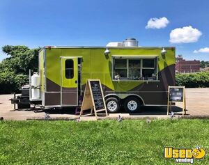 LOADED 2013 Diamond Cargo 8.5' x 20' Mobile Kitchen Food Concession Trailer for Sale in West Virginia!