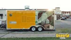 2013 Kitchen Food Trailer Air Conditioning Oklahoma for Sale