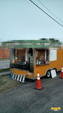 2013 Kitchen Food Trailer Stainless Steel Wall Covers Oklahoma for Sale - 4