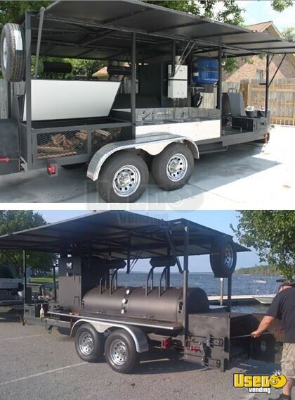 2013 - 7' x 22' BBQ Concession Trailer for Sale in South Carolina!!!