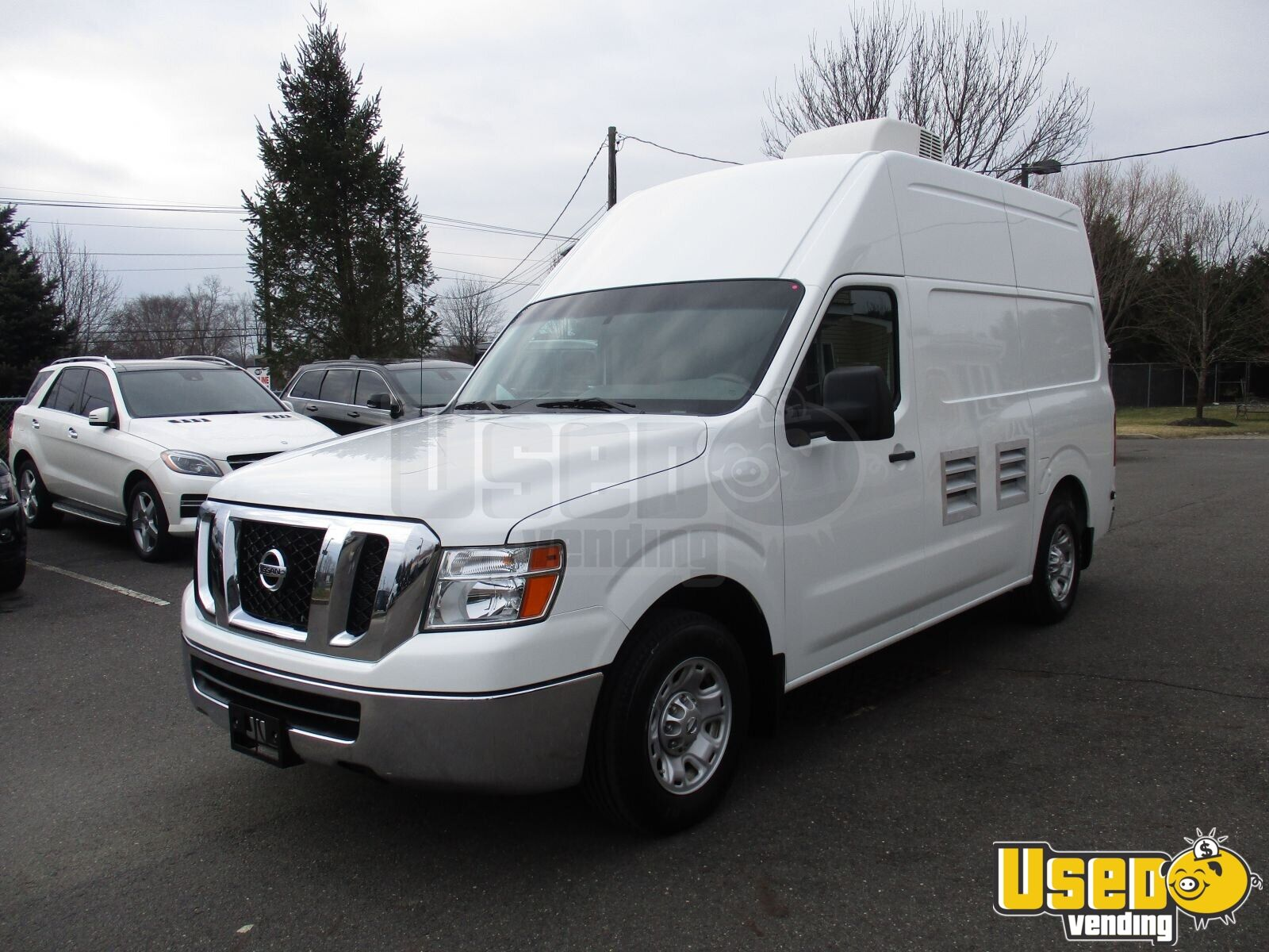 2013 Nissan Nv2500 All-purpose Food Truck Air Conditioning New Jersey Gas Engine for Sale - 2