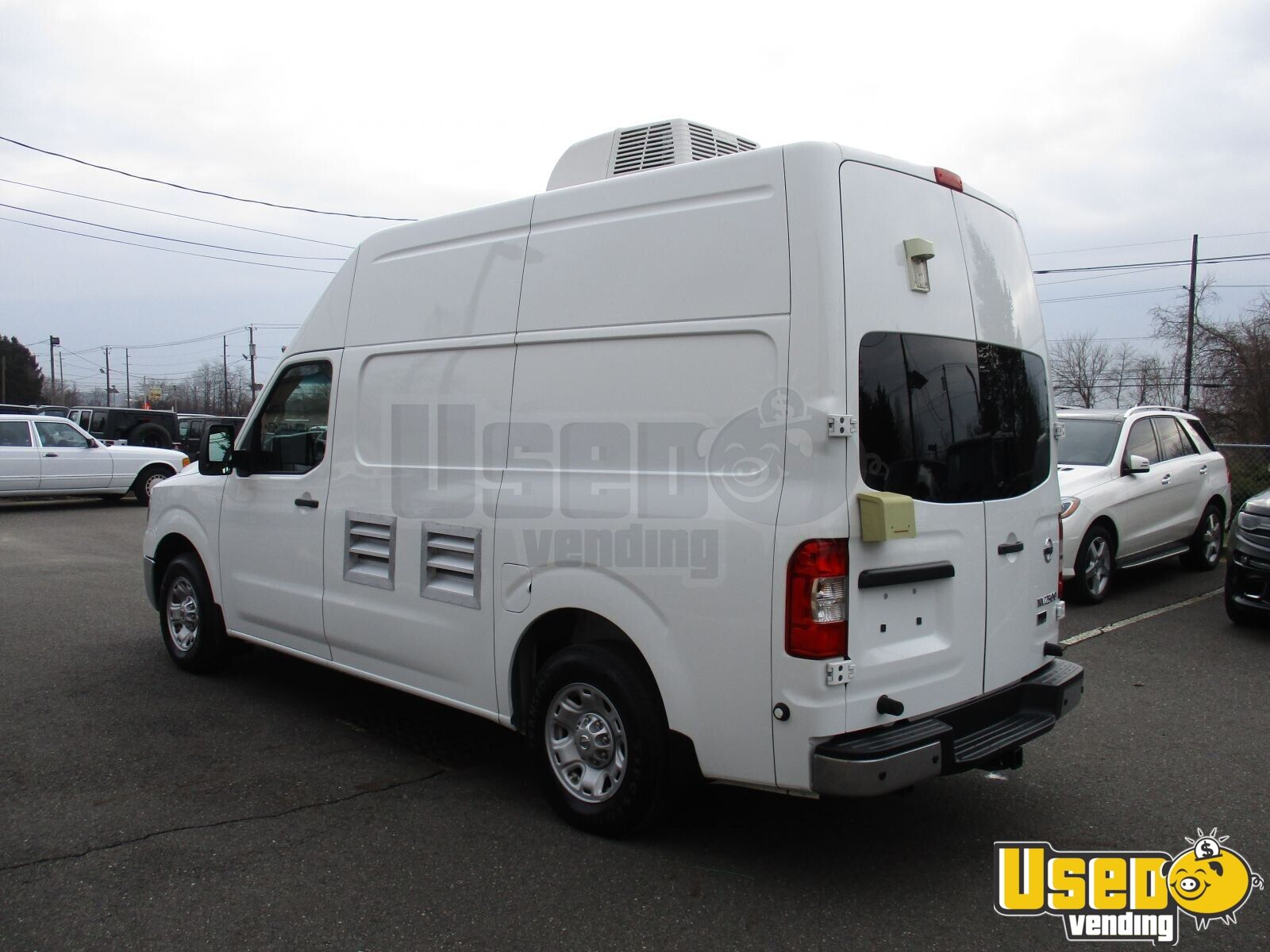 2013 Nissan Nv2500 All-purpose Food Truck Interior Lighting New Jersey Gas Engine for Sale - 6