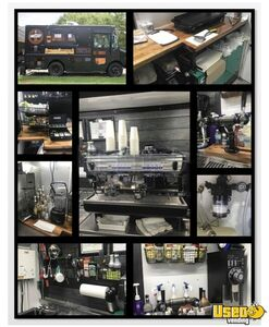 2013 P42 Coffee Truck And Mobile Taproom Coffee & Beverage Truck Diamond Plated Aluminum Flooring Texas Diesel Engine for Sale