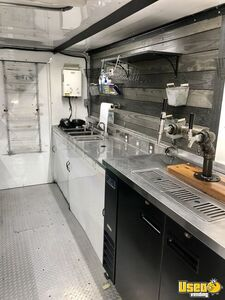 2013 P42 Coffee Truck And Mobile Taproom Coffee & Beverage Truck Interior Lighting Texas Diesel Engine for Sale