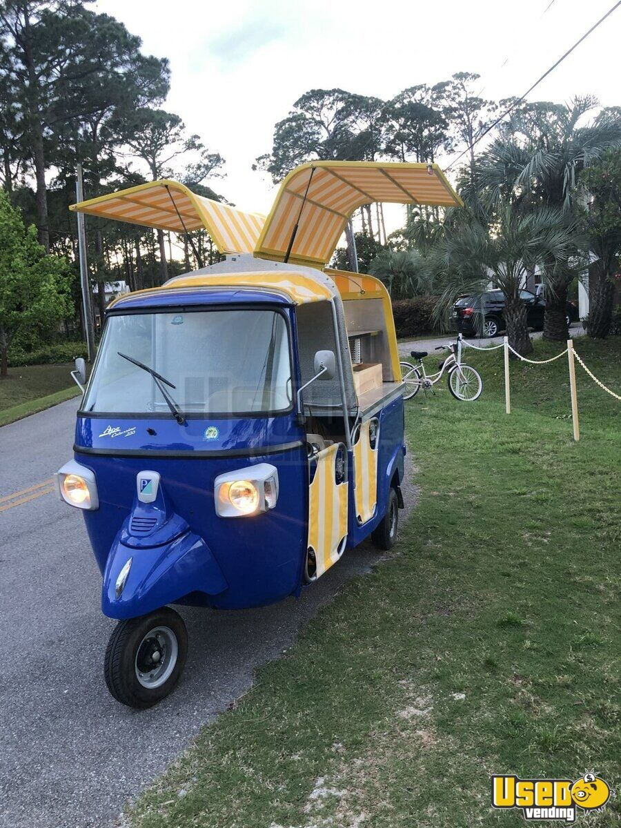 2013 Piaggio Ape Calessino Other Mobile Business 7 Florida Gas Engine for Sale - 7