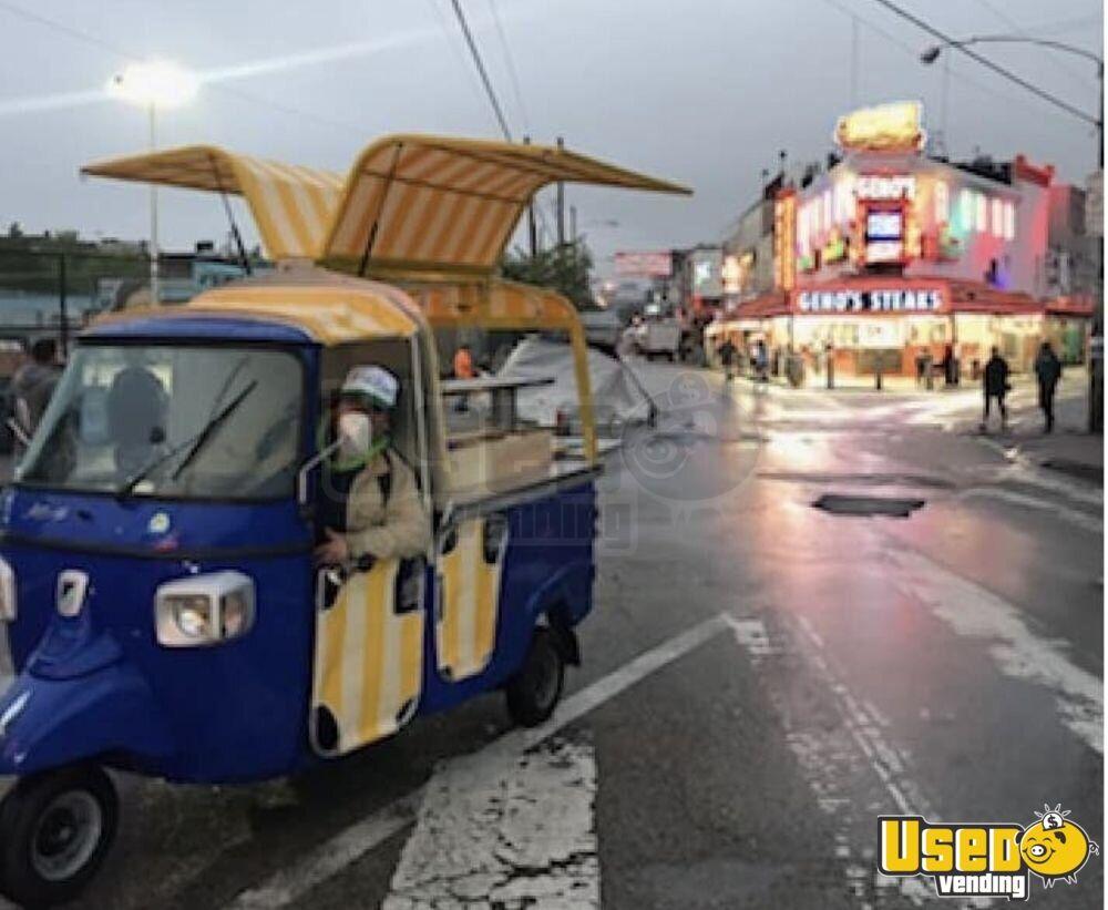 2013 Piaggio Ape Calessino Other Mobile Business Extra Concession Windows Florida Gas Engine for Sale - 3