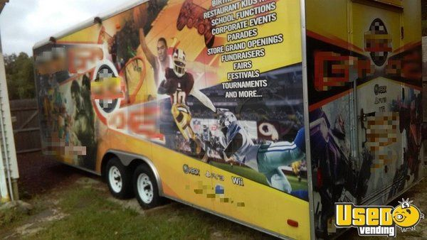8' x 25' Mobile Gaming Business Game Theater Trailer for Sale in New Jersey!