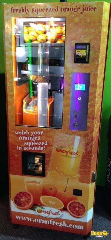Orangfresh Vending Machines Orange Juice Vending Machines For Sale