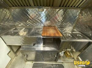 2014 Barbecue Concession Trailer Barbecue Food Trailer Diamond Plated Aluminum Flooring Texas for Sale