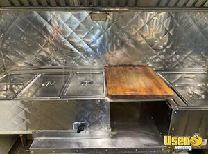 2014 Barbecue Concession Trailer Barbecue Food Trailer Exterior Customer Counter Texas for Sale