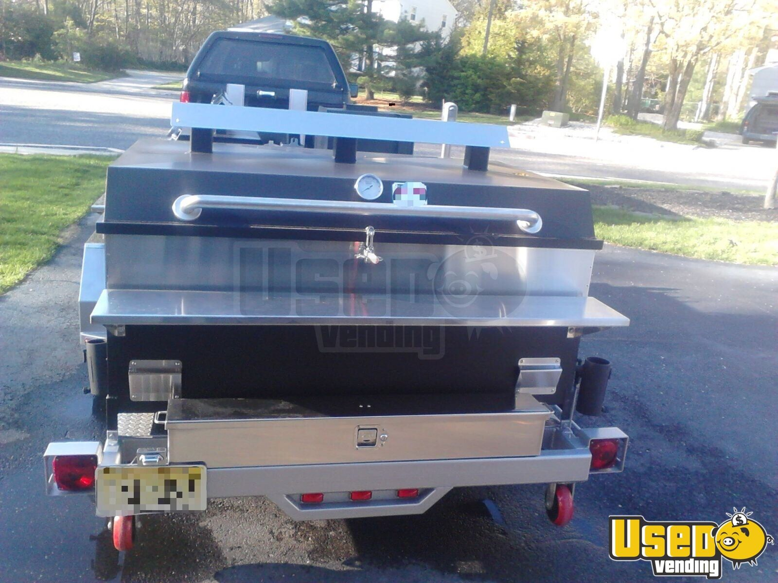 2014 Bq Grills Open Bbq Smoker Trailer Chargrill New Jersey for Sale - 4