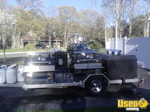 2014 Bq Grills Open Bbq Smoker Trailer Stovetop New Jersey for Sale