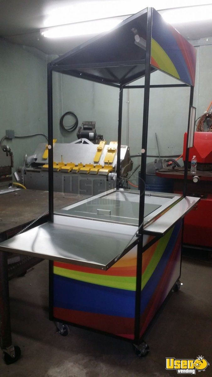 2014 Custom Made By A Fabrication Shop Cart Ice Cream Freezer Pennsylvania for Sale - 2
