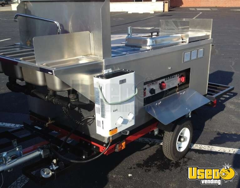 2014 Dock Dawgs Big Dawg Food Cart 2 Michigan for Sale - 2