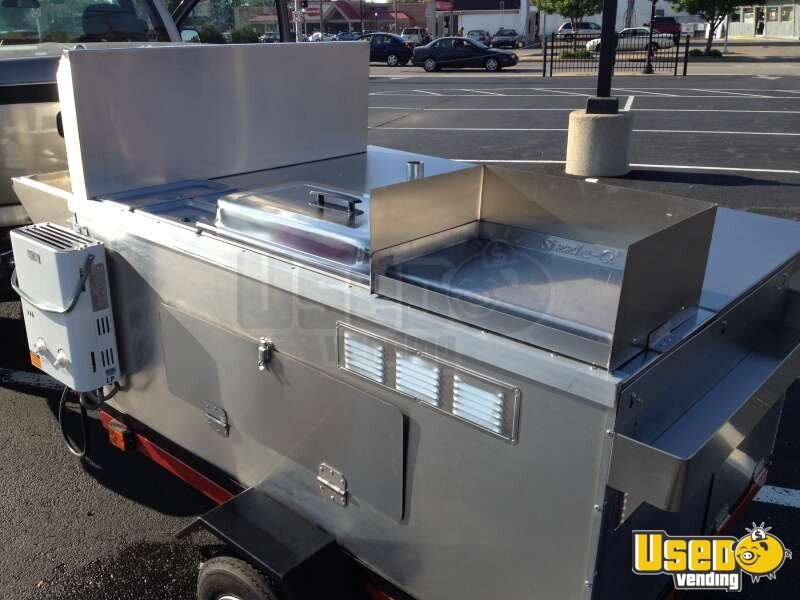 2014 Dock Dawgs Big Dawg Food Cart 3 Michigan for Sale - 3