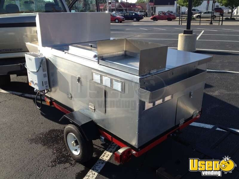 2014 Dock Dawgs Big Dawg Food Cart 4 Michigan for Sale - 4