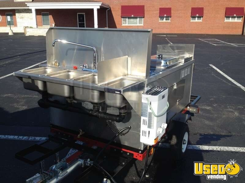 2014 Dock Dawgs Big Dawg Food Cart 7 Michigan for Sale - 7