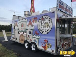 2014 Food Concession Trailer Kitchen Food Trailer Awning Texas for Sale