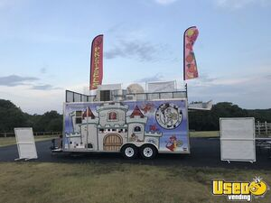 2014 Food Concession Trailer Kitchen Food Trailer Floor Drains Texas for Sale