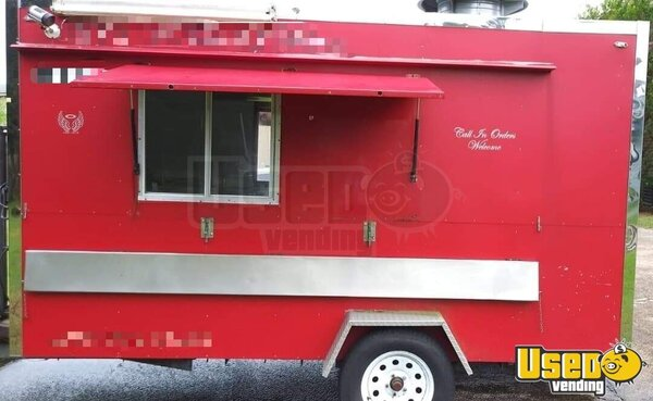 2014 Food Concession Trailer Kitchen Food Trailer Texas for Sale