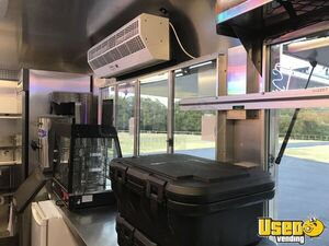2014 Food Concession Trailer Kitchen Food Trailer Upright Freezer Texas for Sale