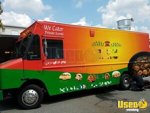 2014 Ford F59 All-purpose Food Truck Concession Window South Carolina Gas Engine for Sale