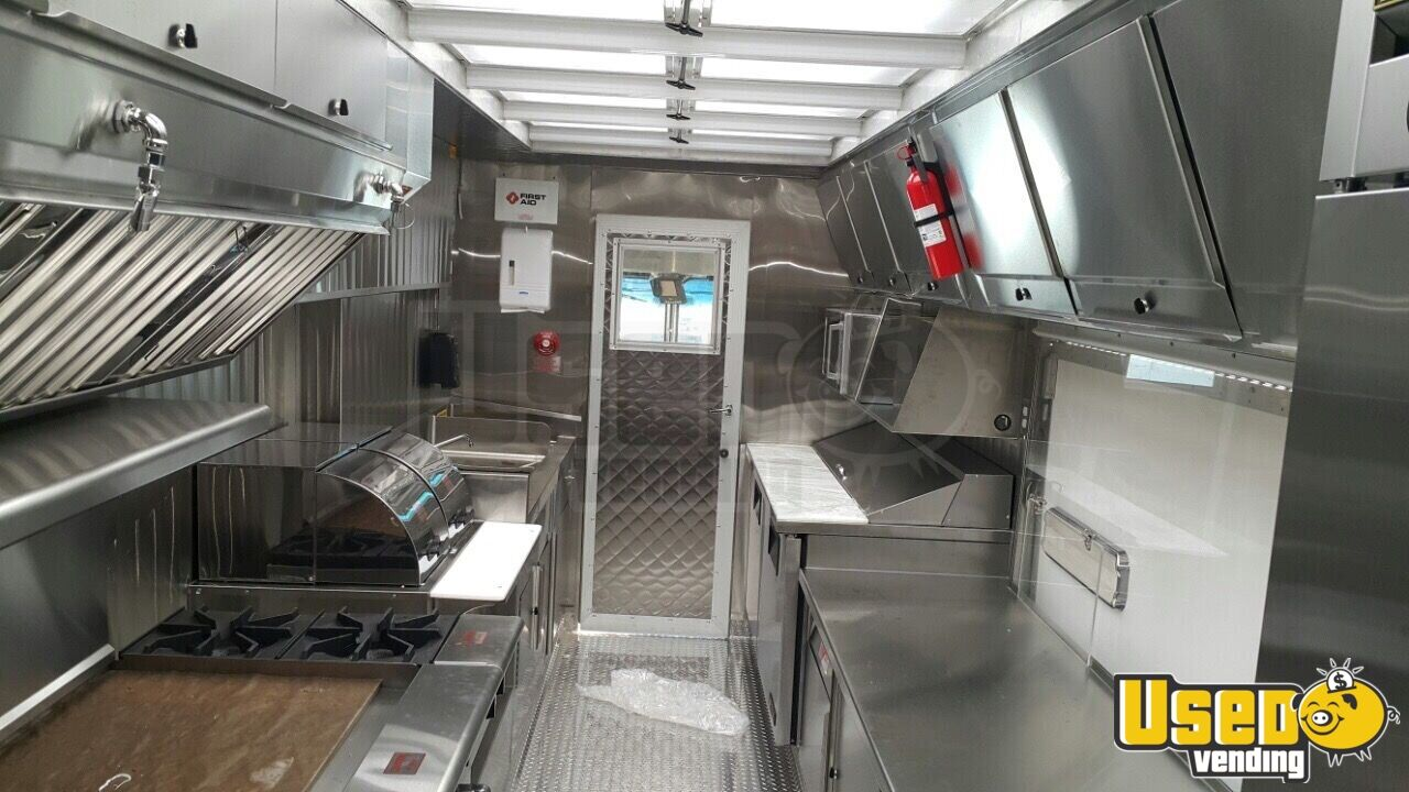 2014 Ford F59 All-purpose Food Truck Stainless Steel Wall Covers California Gas Engine for Sale - 4