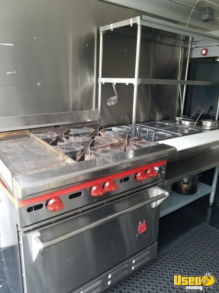 2014 Haulmark All-purpose Food Trailer Prep Station Cooler Connecticut for Sale - 9