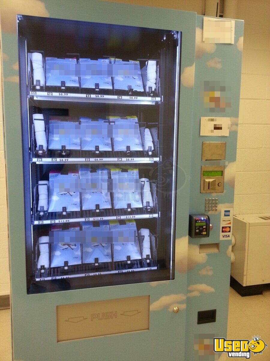 2014 Joefemar Vision Es-plus With Slave Other Snack Vending Machine 3 New Jersey for Sale - 3