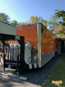 2014 Kitchen Food Concession Trailer Kitchen Food Trailer Insulated Walls Maine for Sale