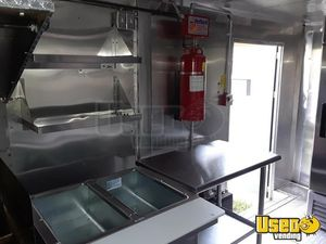 2014 Kitchen Food Trailer Prep Station Cooler Florida for Sale