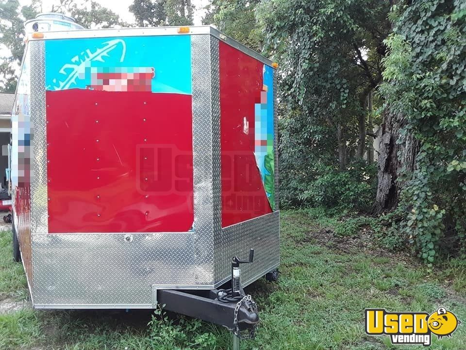 2014 Kitchen Food Trailer Propane Tank Florida for Sale - 4