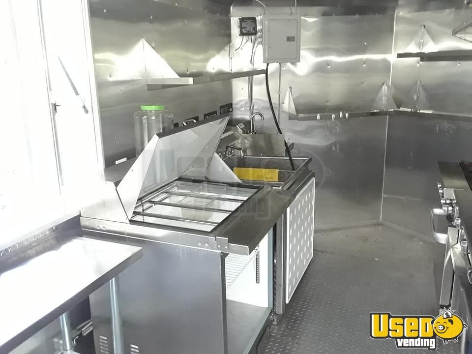 2014 Kitchen Food Trailer Refrigerator Florida for Sale - 6