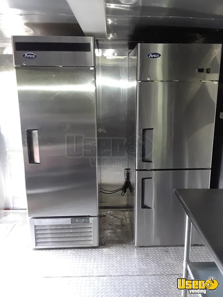 2014 Kitchen Food Trailer Stovetop Florida for Sale - 8