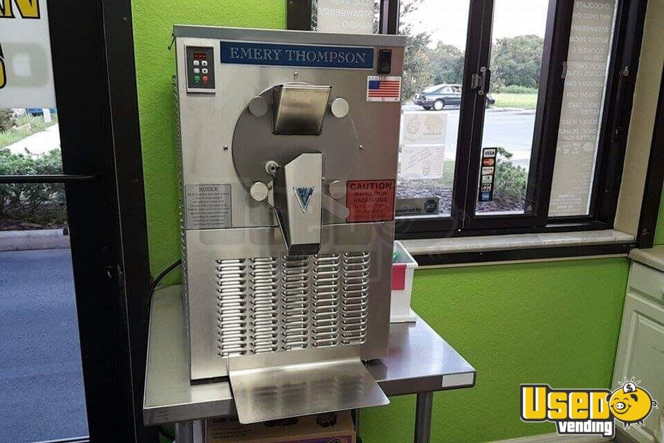 2014 Look Ice Cream Trailer Exterior Customer Counter Florida for Sale - 8